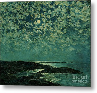 Moonlight Metal Print by Childe Hassam