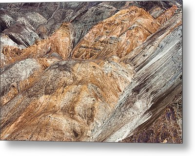 Mountain Abstract 7 Metal Print by Hitendra SINKAR