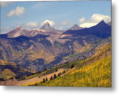 Mountain Splendor 2 Metal Print by Marty Koch