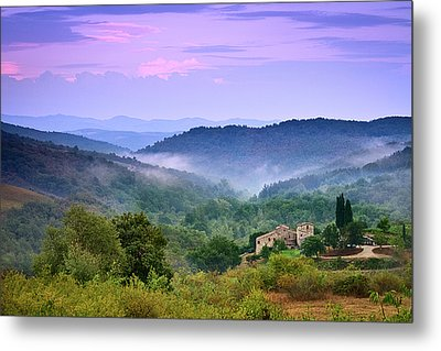 Mountains Metal Print by Christian Wilt