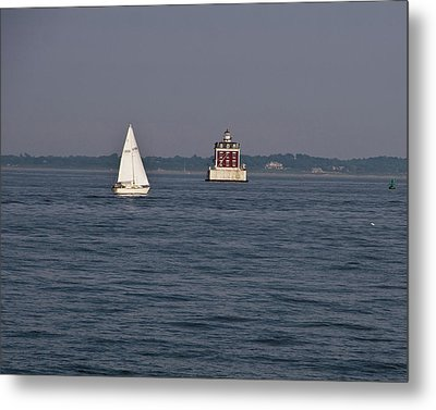 My Favorite Lighthouse Metal Print by Gerald Mitchell