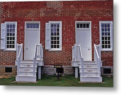 Natchez Trace Gordon House - 1 Metal Print by Randy Muir
