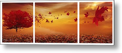 Nature's Art Metal Print by Lourry Legarde