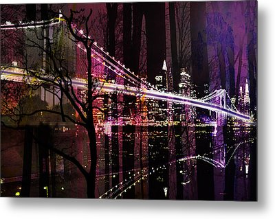 New York City Metal Print by Christine Mayfield