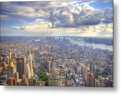 New York State Of Mind   High Definition Metal Print by Mandy Wiltse