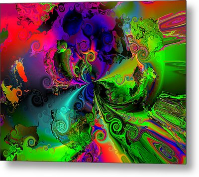 No Cooperation Metal Print by Claude McCoy