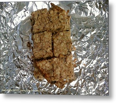 Oat Bars Metal Print by Jamey Balester
