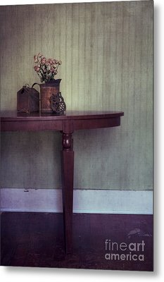 Old And Rusty Metal Print by Priska Wettstein