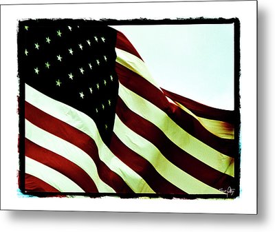 Old Glory Metal Print by Scott Pellegrin