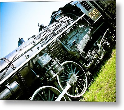 Old Locomotive 01 Metal Print by Michael Knight