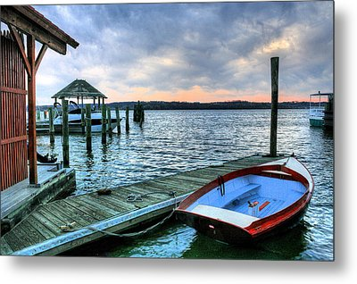 Old Town Charm Metal Print by JC Findley