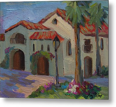 Old Town La Quinta Afternoon Metal Print by Diane McClary