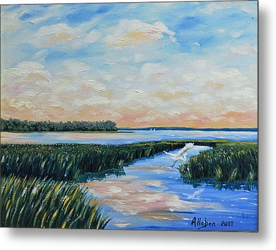 On The May River Metal Print by Stanton Allaben