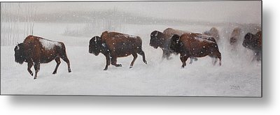 On The Move Metal Print by Tammy  Taylor