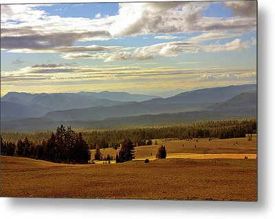 Oregon - Land Of The Setting Sun Metal Print by Christine Till