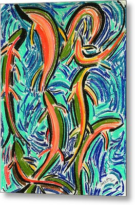 Orgy Oncorynchus Metal Print by Diallo House