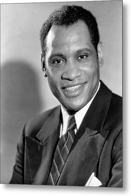 Paul Robeson, Ca. 1930s Metal Print by Everett