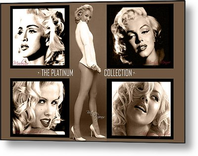 Platinum Collection Metal Print by Anibal Diaz