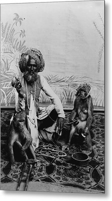 Portrait Of An Indian Fakir Metal Print by Everett