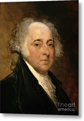 Portrait Of John Adams Metal Print by Gilbert Stuart