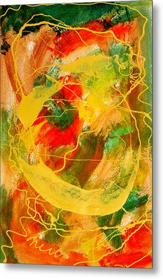 Punkin Patch Metal Print by Mordecai Colodner