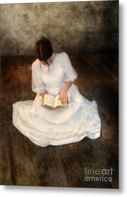 Reading  Metal Print by Jill Battaglia
