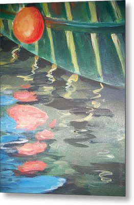 Reflecting Metal Print by Mickey Bissell