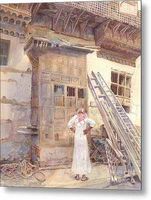 Rochan With Figure Metal Print by Dorothy Boyer