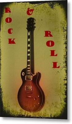 Rock And Roll Metal Print by Bill Cannon