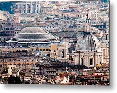 Roman Rooftops Metal Print by Andy Smy