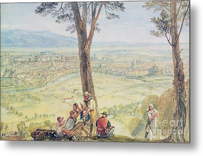 Rome From Monte Mario Metal Print by Joseph Mallord William Turner