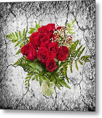 Rose Bouquet Metal Print by Elena Elisseeva