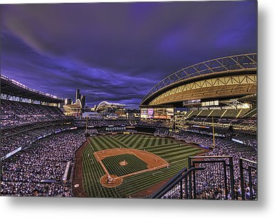 Safeco Field Metal Print by Dan McManus