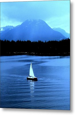 Sailboat 1 Metal Print by Randall Weidner