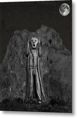 Scream Rock Metal Print by Eric Kempson