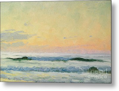 Sea Study Metal Print by AS Stokes