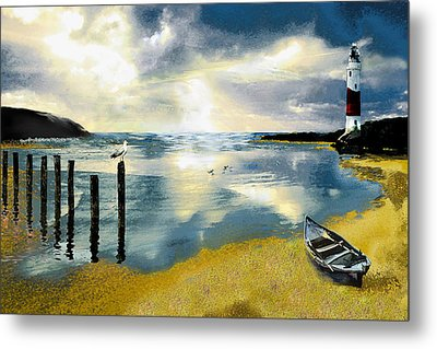 Silent Ocean Metal Print by Anne Weirich