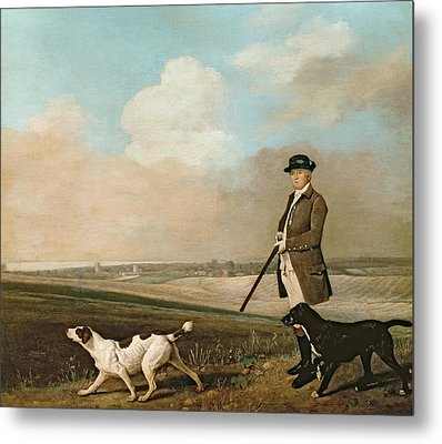 Sir John Nelthorpe Metal Print by George Stubbs
