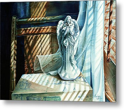 Spirit Breeze Metal Print by Carolyn Coffey Wallace