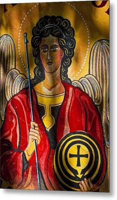 St. Michael  Metal Print by Robert Ullmann
