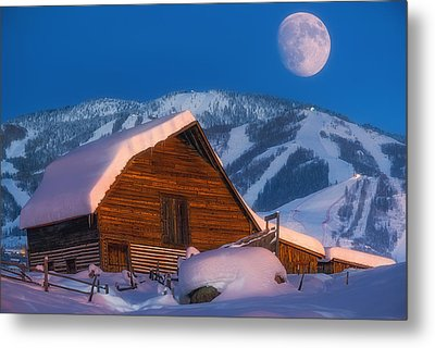 Steamboat Dreams Metal Print by Darren White