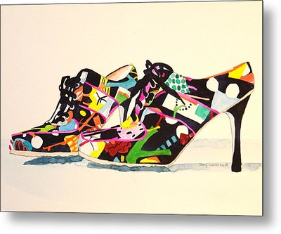 Steppin' Out Metal Print by Terry Honstead
