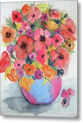 Stunning Flower Arrangement Metal Print by Harold Kimmel