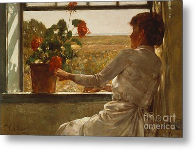 Summer Evening Metal Print by Childe Hassam