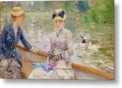 Summers Day Metal Print by Berthe Morisot