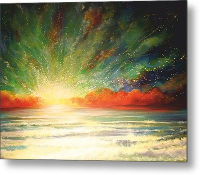 Sun Bliss Metal Print by Naomi Walker