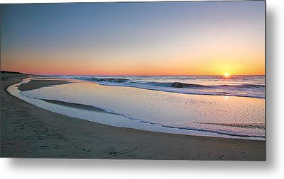 Surf And Sand II  Metal Print by Steven Ainsworth