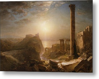 Syria By The Sea Metal Print by Frederic Edwin Church