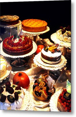 Tempting Treats...untitled Metal Print by Linda  Parker
