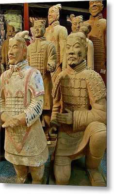 Terracotta Warriors Metal Print by Dorota Nowak